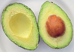 Alimentação saudável com abacate