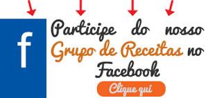 Participe de nosso Grupo de Receitas no Facebook